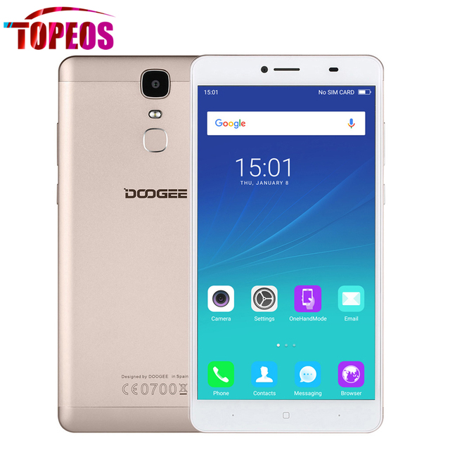 """Y6 DOOGEE Макс 6.5 """"дюймовый Мобильный Телефон 1920*1080 FHD MTK6750 Окта основные 1.5 ГГц 3 ГБ RAM 32 ГБ ROM 4300 мАч батареи 13MP Камера 4 Г LTE"""