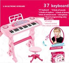 37 Tasten instrumento musical infantil Klavierspielzeug Mikrofon musik tastatur Electone instrumento musicais instrumente musical spielzeug