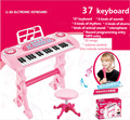 37 Keys instrumento musical infantil Piano Toy Microphone musical keyboard Electone instrumento musicais instruments musical toy