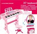 37 Teclas de Piano instrumento musical infantil Juguete Micrófono musicais Electone teclado del instrumento musical instrumentos musicales de juguete