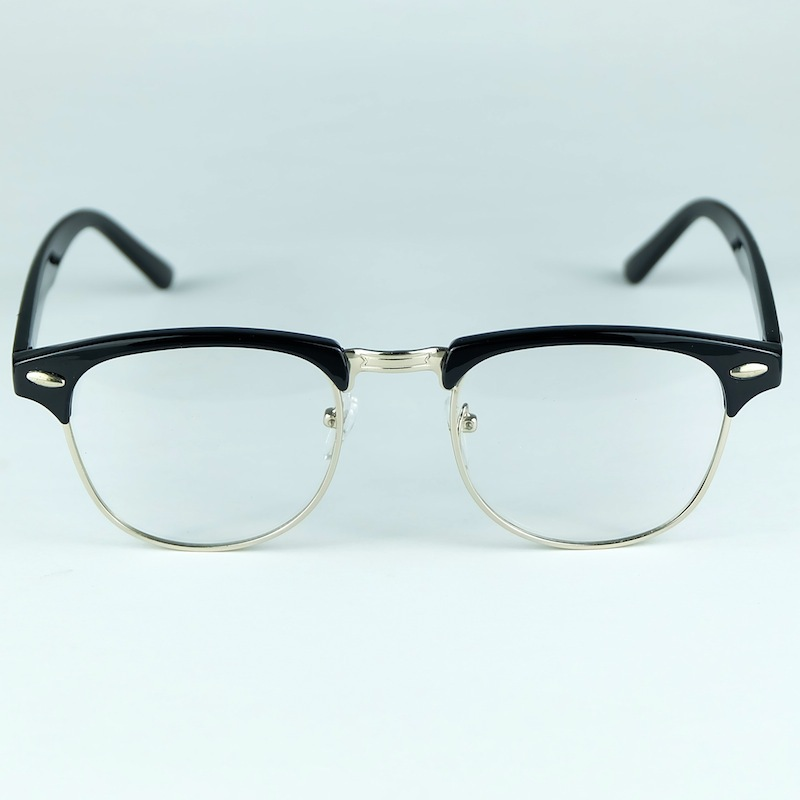 db7d7f1289 Classic Stlye Shape Plastic And Metal Mixed Half Rim Type Eyewear Style  Optical Frame-in Eyewear Frames from Apparel Accessories on Aliexpress.com