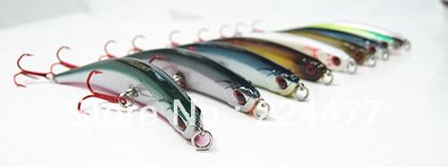 10g / 11cm Žvejybos kepimo kietieji plastikiniai maišai Minnow - Žvejyba - Nuotrauka 3