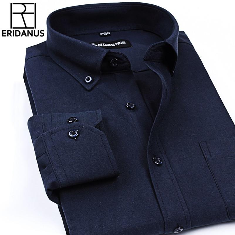 2016 Oxford camisa de los hombres de primavera nueva llegada botón - Ropa de hombre