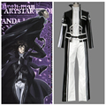 2016 Free Shipping Anime Costume D.Gray man Miranda Lotto Halloween Cosplay Costume For Kids And Adult