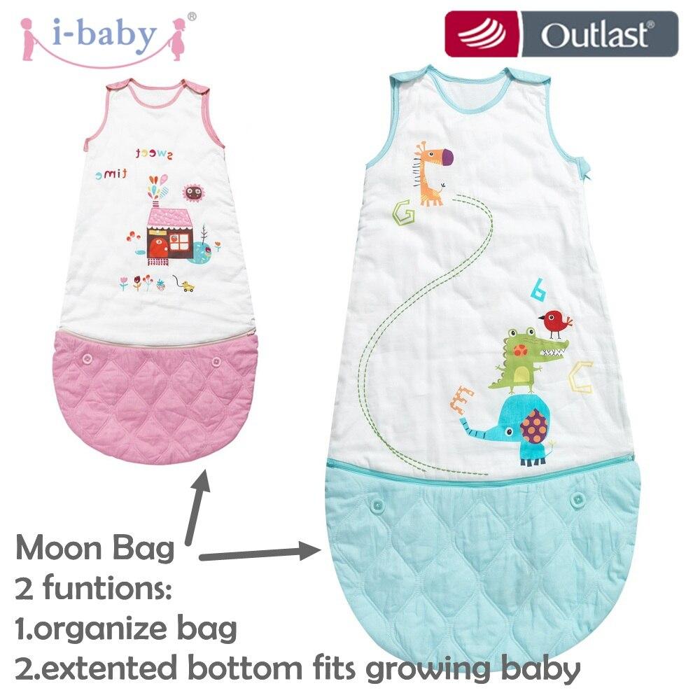 i baby Baby Bedding Baby Sleeping Bag Newborn Swaddling Printed Sleepsack Infant Sleeping Bag Sweet Time Boys Girls