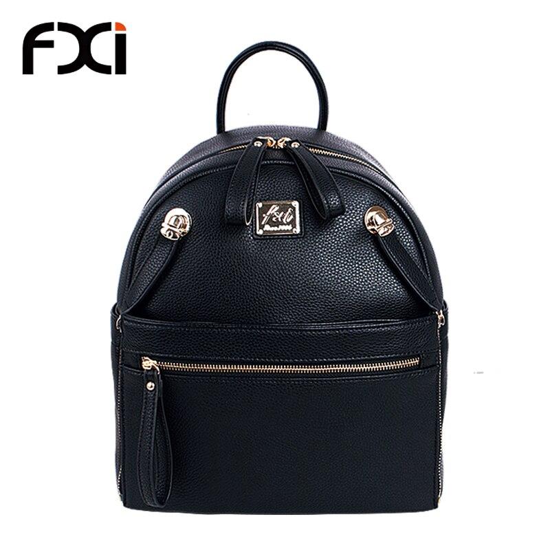 US $69.9 |2015 fashion Big black backpacks