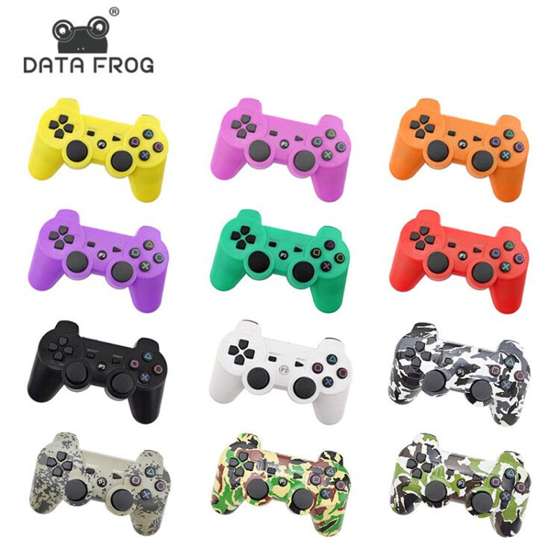 все цены на Data Frog For Sony Playstation 3 For PS3 Controller Wireless Bluetooth Gamepad Joystick For Sony Playstation 3 For PS3 Gamepads онлайн