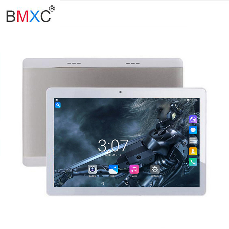 Android 7.0 10inch Tablet PC 3G Phablet GSM/WCDMA Dual Core 4GB ROM Dual SIM Camera Flash Light A-GPS Phone Call WIFI Tablet pad