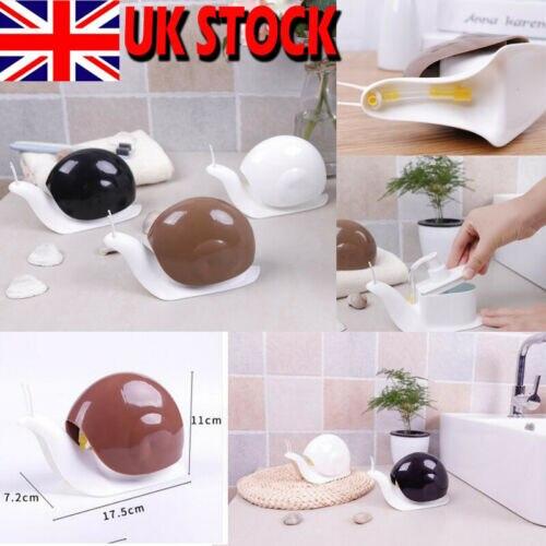 UK New Snail Press Soap Dispenser Liquid Bottle Shampoo Portable Soap Dispenser Bathroom Products