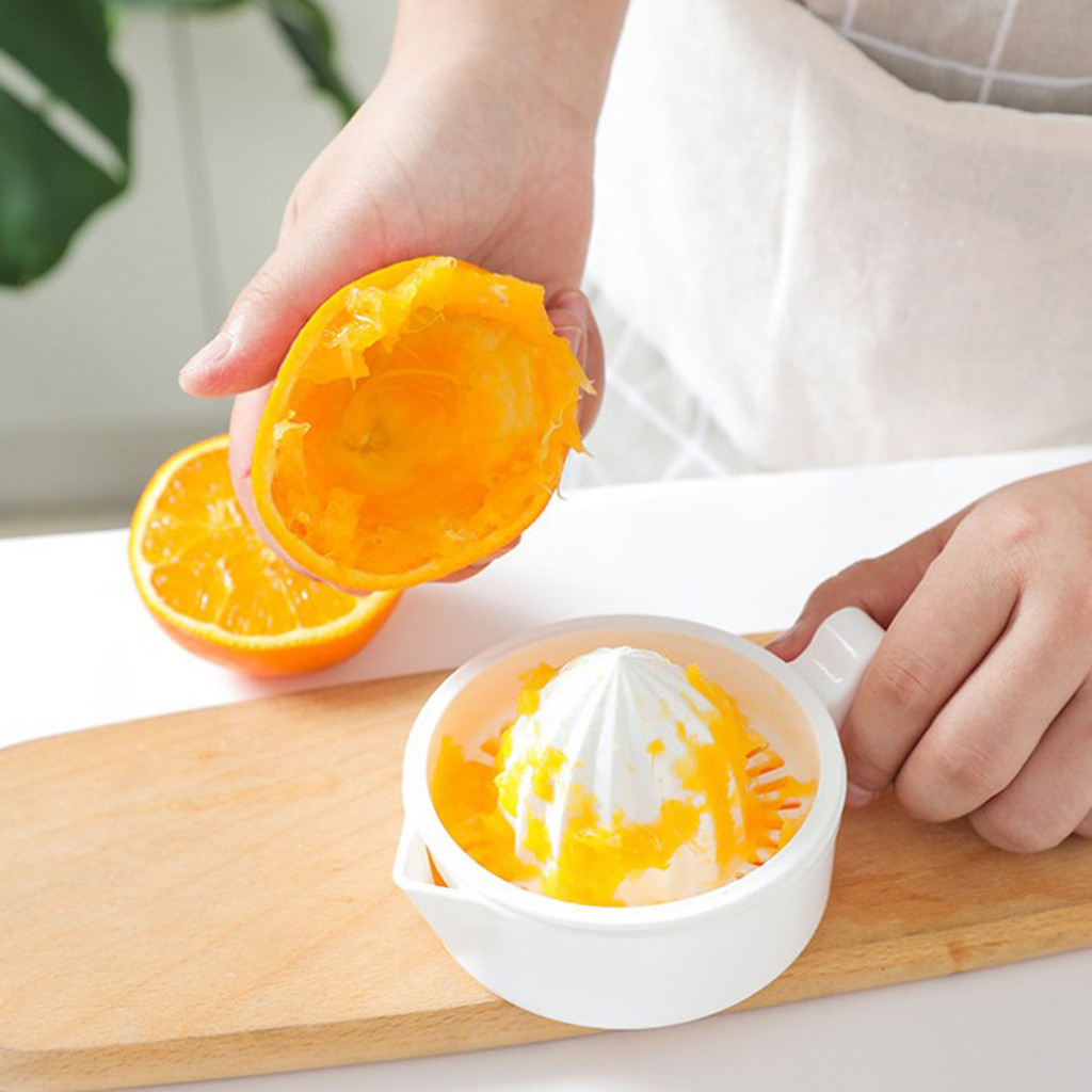 Portable Household Small Juice Extractor Bar Manual Drink Orange Lemon Citrus Juice Maker Lime Fruit Juicer Juice Squeezer Cup
