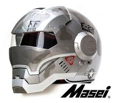 Личность мотоциклетный шлем мужчины Подлинной и женщины утюг 610 человек ретро высокого класса off-road мотоцикл F22