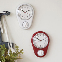 Kitchen Wall Clocks Countdown Fucntion Cooking Timers Alarm Count Down By 59Min.59Sec.Kitchen Wall Timering for Cook