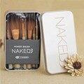 Nuevos Pinceles de Maquillaje 12 Unids nueva nake 3 cepillo, NK3 Maquillaje Cepillo Sets kit de sombra de ojos del blusher Cepillos Cosméticos herramienta