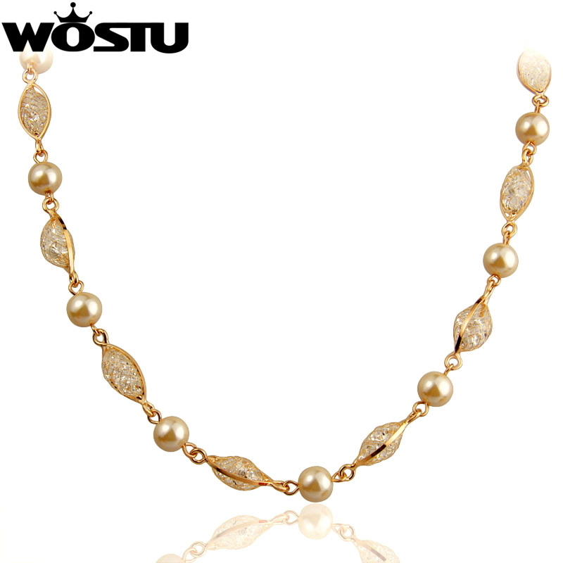 High Quality Luxury Chain Necklace For Women Engagement Rose Gold