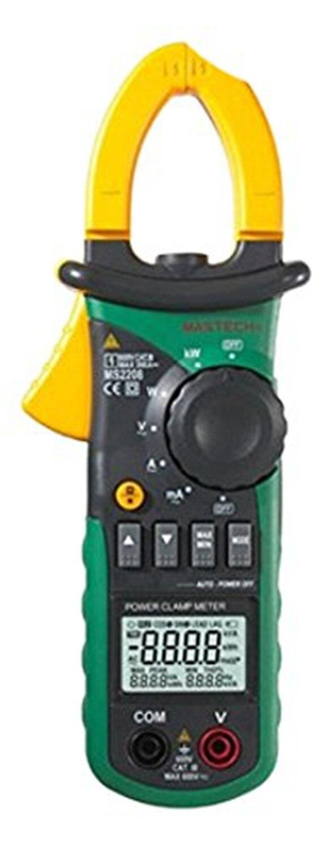 Горячие MATECH MS2208 гармоническое Мощность клещи Тесты er мультиметр Trms Напряжение ток Мощность фазы угол Тесты