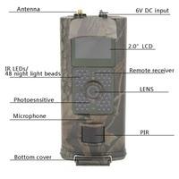 HC 700G 3g охоты Камера дикий Камера GPRS Ночное видение для животных фото ловушки охоты Камера Встроенный 2,0 TFT