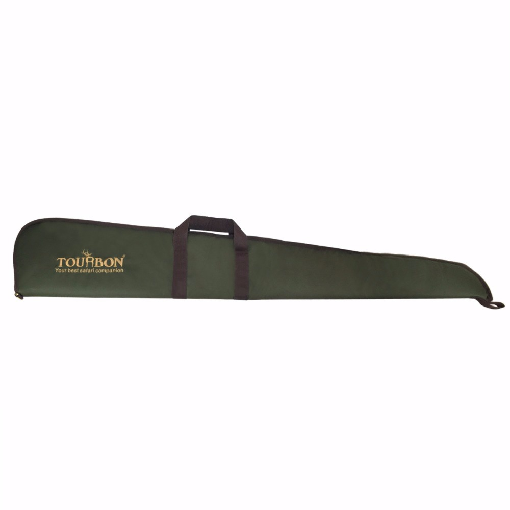 Tourbon Hunting Tactical Shotgun Case Gun Gun Range Range Slip Pad Carrier 128CM Green Neylon Gun Accessories