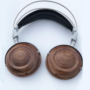 Image 2 - HiFi Headphone Case Over Ear Headphone Wooden Case Shell DIY Bluetooth Headphone Case Cover 40MM 50MM 53MM