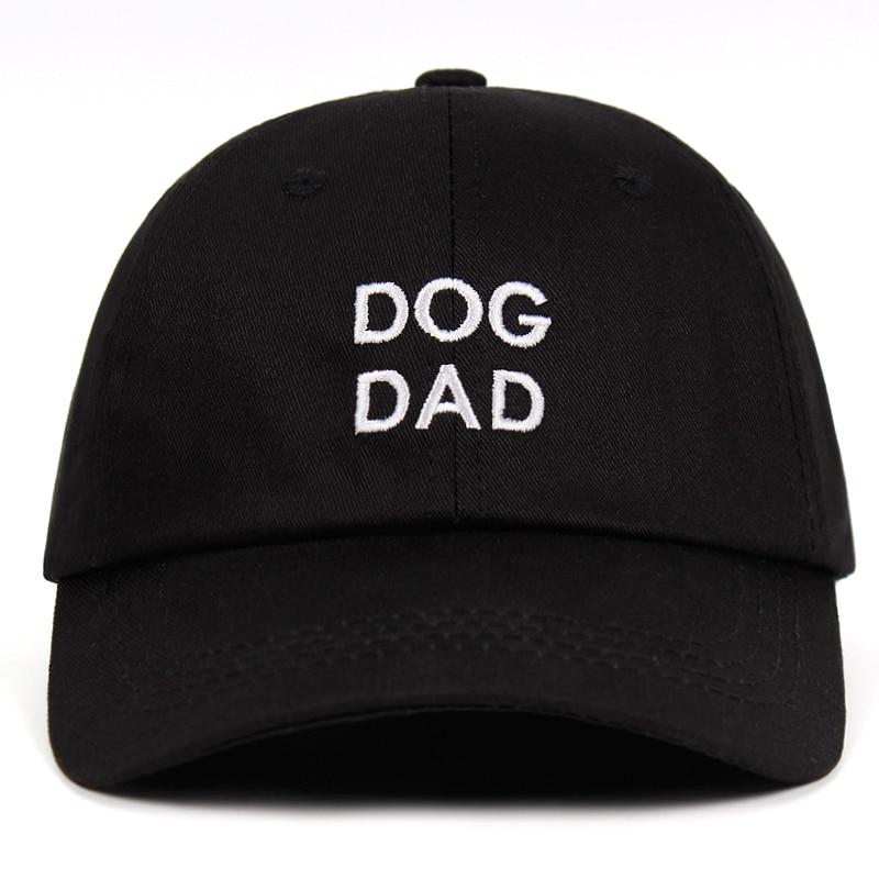 Kraftvoll Hund Papa 100% Baumwolle Bestickt Hysterese Hüte Papa Hut Angepasst Handgemachte Mütter Tag Schwangere Hund Mom Unisex Baseball Kappe