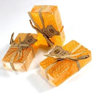 100% handgemachte Bleaching мыло Peeling Glutathion Arbutin Honig Kojic säure Seife 90g G0225
