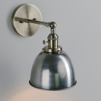 Permo Vintage wandlamp 6.5'' Wall Lamps Black Modern Wall Sconce Industrial Stair Wall Light Fixtures New Year Christmas Decor