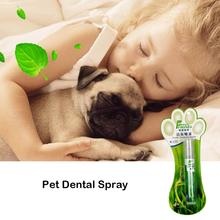 14ML Pet Dental Spray Fresh Smell Remove Odor Prevent Plaque Calculus Tooth Cleaning Mist For Dog Cat