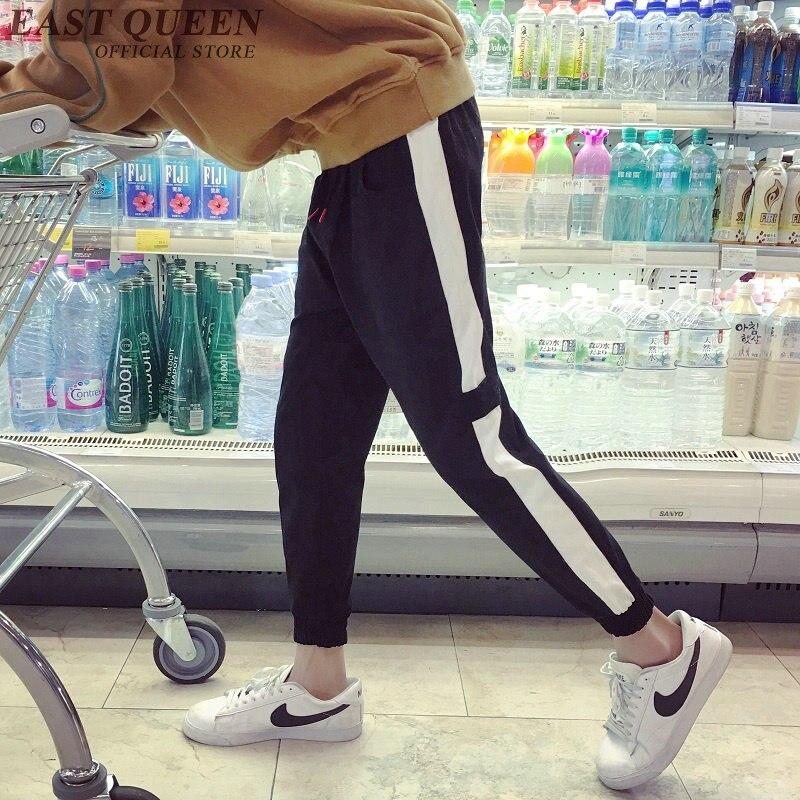 Треники для мужчин штаны-шаровары мужской бренд мужской Мотобрюки однотонные штаны Треники aa3074 Y ...
