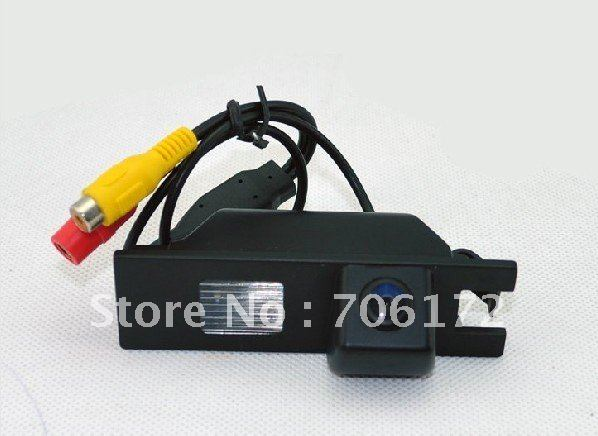 Factory selling Car rearview camera reversing backup for opel vectra astra zafira dvd player Free shipping