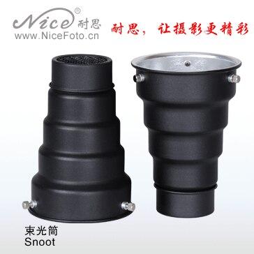 Adearstudio jinbei 250 flash lamp general snoot beam tube Useful Beam Tube Camera Snoot For Flash Light 50d