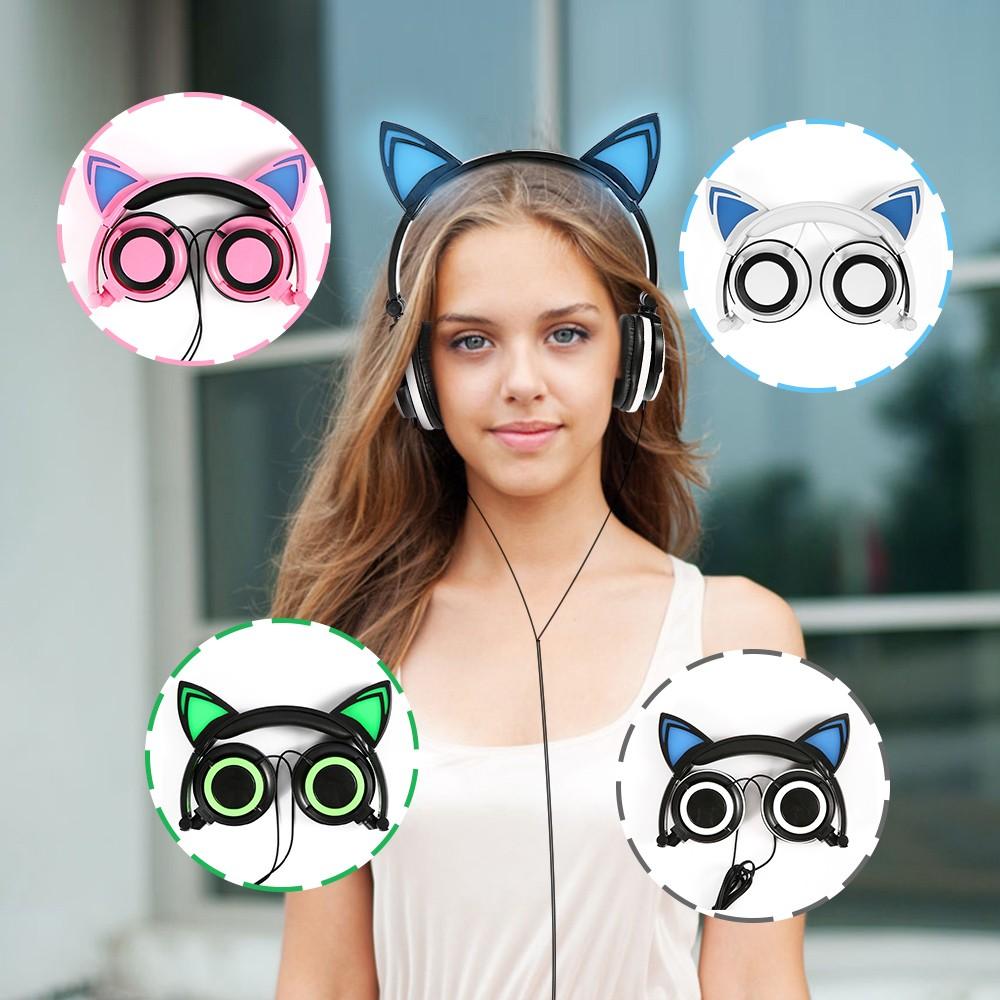 HTB1sji OXXXXXXfXpXXq6xXFXXXR - Mindkoo Stylish Cat Ear Headphones with LED light