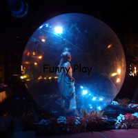 Inflatable Snow Globe for event advertising show,Inflatable Advertise dacing Show Ball Dance Balloon for T show