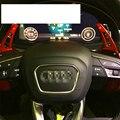 Apto para Audi A4/A6/Q7/TT/TTS Alumínio Roda de Direcção do carro de Rastreamento Modo Paddle Shift Shifter Tipo Lâmina Projeto 4 Cores