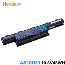 HONGHAY AS10D31 bateria do laptopa ACER Aspire 4741 5741 5551 5750G 7551 5740 AS10D41 AS10D51 AS10D71 AS10D75 7741 AS10D73 4741G