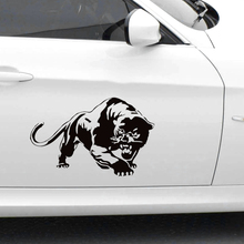 CK2808#47*30cm Black panther funny car sticker vinyl decal silver/black car auto stickers for car bumper window car decorations ck2808 47 30cm black panther funny car sticker vinyl decal silver black car auto stickers for car bumper window car decorations