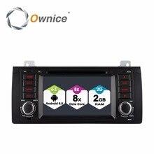HD1024*600 Android 6.0 8 Octa Core 2G RAM Car DVD Player For bmw 5 Series X5 E53 E39 E38 M5 Radio GPS Navigation 4G SIM LTE WIFI все цены
