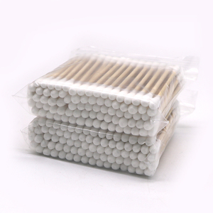 10Pack Women Beauty Makeup Cotton Swab Double Head Cotton Buds Make Up Wood Sticks Nose Ears Cleaning Cosmetics Health Care