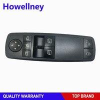 Interruptor principal de control de ventanilla eléctrico 1698206810 A1698206810 para Mercedes Benz GL ML W164 2005 2011|electric power|window master switch|power window control switch -