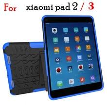 Для xiaomi mi pad 2 3 case heavy duty защитник прочный тпу + pc броня противоударный kickstand обложка для xiaomi mipad2 mipad3 7.9 inch