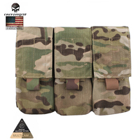Emersongear LBT Style M4 Triple Magazine Pouch Molle Military Airsoft Painball Combat Gear EM6352