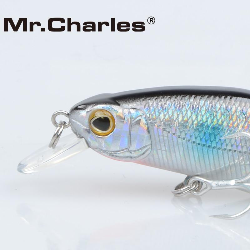 Mr.Charles CMC015 Kunstaas 70mm / 8.5g Shad, 0-0.8M Drijvend, - Visvangst - Foto 4
