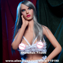 158cm Top quality silicone sex doll for men, lifelike love doll, big breast adult doll, artificial vagina full body real pussy