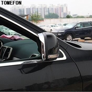 Tomefon Bicromato di Potassio per Jeep Grand Cherokee 2011 2012 2013 2014 2015 2016 2017 Posteriore Vista Laterale Specchio di Pioggia Visor Ombra scudo Trim