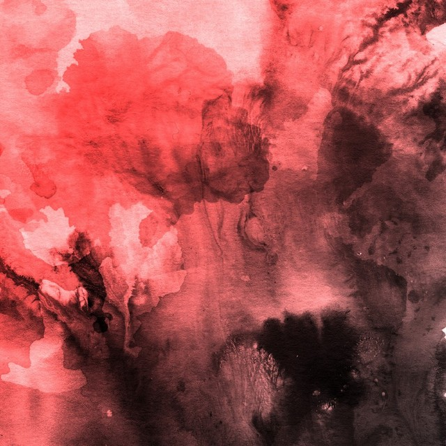 red black watercolor splatters backdrops Vinyl cloth High quality