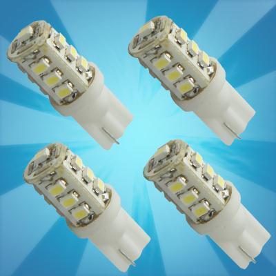Wholesale 4PCS T10 Car Lamp High Power 168 194 W5W White 13 SMD LED Side Parking Light Bulb 12V. Free & Drop Shipping