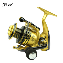 Top Quality Gapless Metal Baitcasting Fishing Reel 5.1:1 High Speed Ratio Fishing Reels for Sea Fishing Gear Tackle Dropping