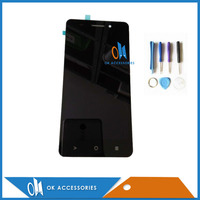High Quality Black Color For Highscreen Power Five Evo LCD Display Touch Screen Digitizer Assembly With