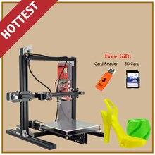 De alta Precisión de Gran Tamaño de Construcción 200*200*230mm Profesional 3 Impresoras D Impresora 3D De Metal Totalmente Automático nivel Doble Cambio de Color