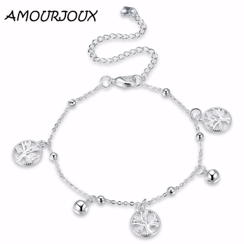 chain with anklet appl rope box square ankle charms bracelets twisted az silver bling bracelet jewelry