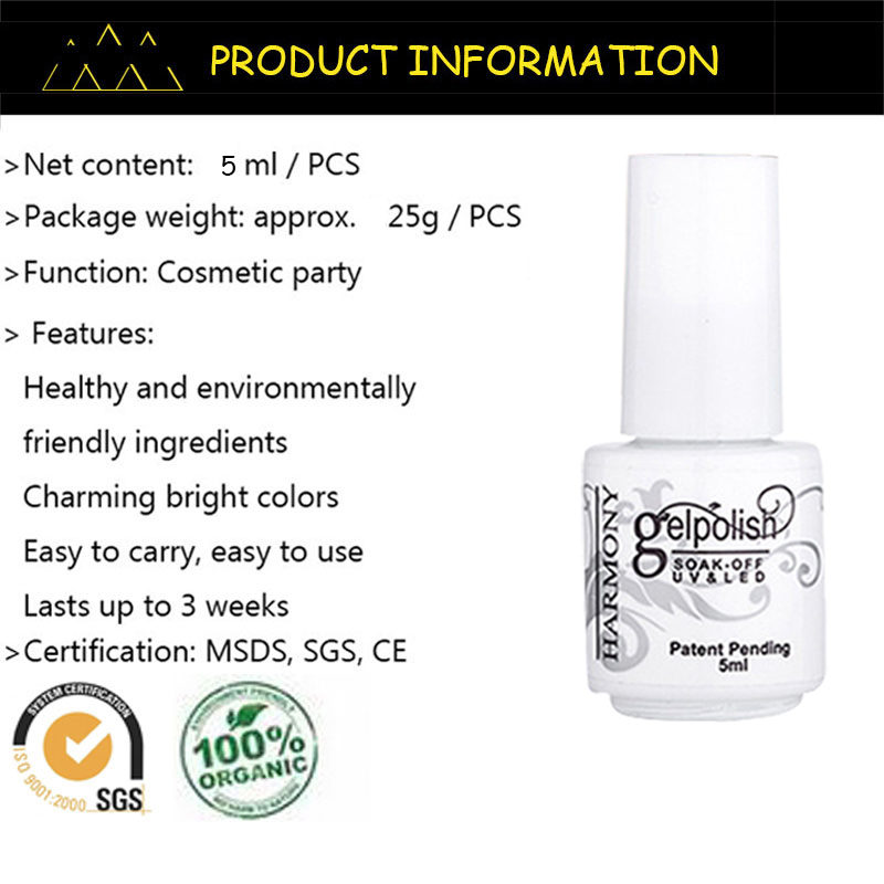 MDSKL 5 ML Cat Kuku Cerah Colorful Polandia Gel Lacquer Led & UV - Nail art - Foto 6