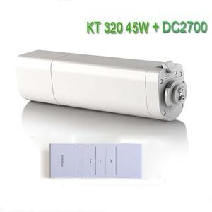 Image 1 - Original Eruiklink Dooya Sunflower 220V 50mhz Electric Curtain Motors KT320E 45W with remote DC2700 Intelligent Mobile Control